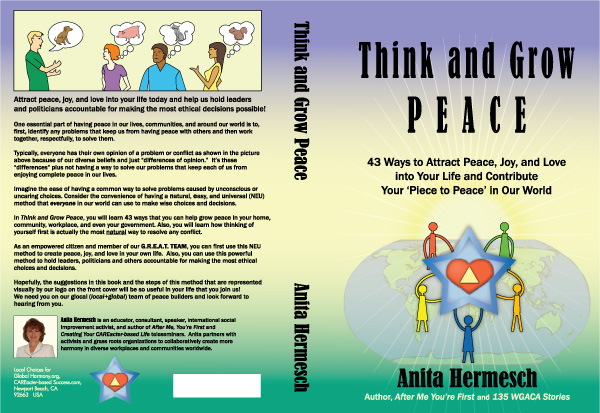 Book cover think and grow peace final